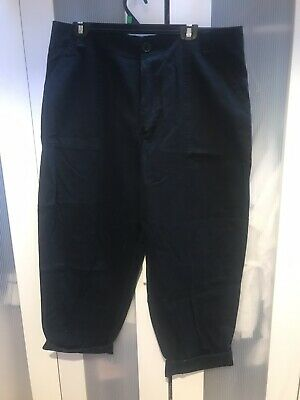 AU15 • Buy Women's ASOS Wide Black Pocket Trousers Size 16 Excellent Condition New W/tags