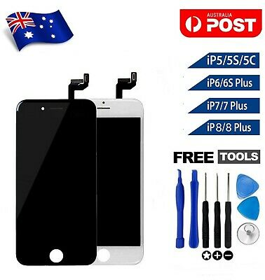 AU26.90 • Buy For IPhone 5 5S 5C 6 6S 7 8 Plus LCD Touch Screen Replacement Digitizer Assembly