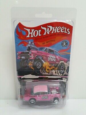 $999.99 • Buy Rare Authentic Hot Wheels RLC 55 Chevy Bel Air Gasser Candy Striper Pink #1702