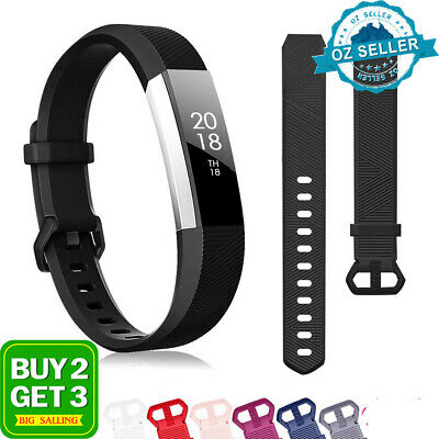 AU5.73 • Buy For Fitbit Alta Alta HR Silicone Bands Wristband Watch Strap Replacement Band