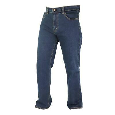 Lee Cooper Workwear Mens Stretch Straight Leg Denim Jeans Work Bottoms Pants • 29.95£