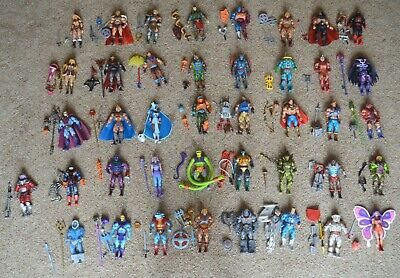 $1795 • Buy MOTUC, Figures Lot, Masters Of The Universe Classics, He-Man Set, Parts, Weapons