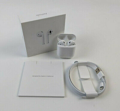 $ CDN169.16 • Buy Apple AirPods 2nd Generation With Charging Case MV7N2AM/A - White