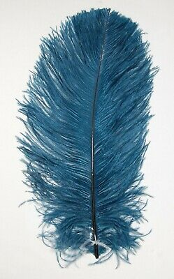 $14.99 • Buy 2 PCs OSTRICH PLUMES 8 -18  FEATHERS COLOR : PERIWINKLE For Hats/Bridal