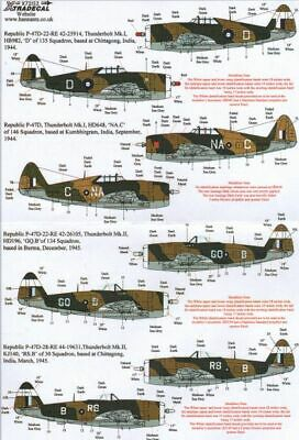 Xtradecal 1/72 P-47D Thunderbolt In RAF Service # 72152 • 9.16£