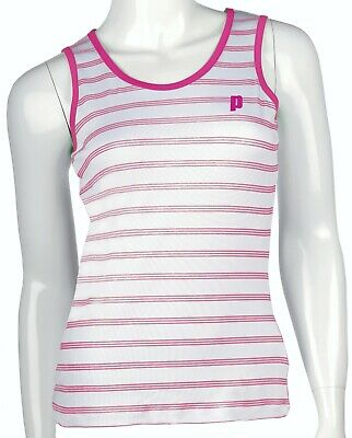 Prince Girls Tank Top White/Berry • 9.99£