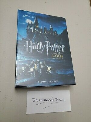 $ CDN24.99 • Buy Harry Potter Complete 8 Movie Collection Dvd Box Set Wizards Hogwarts Voldemort