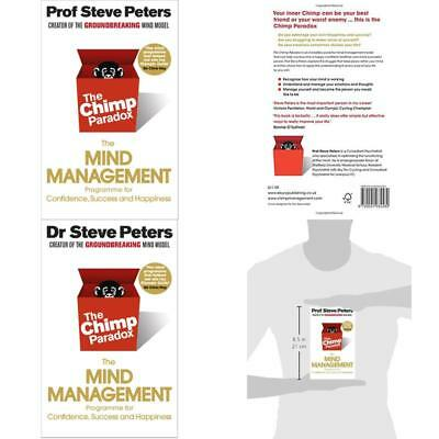 The Chimp Paradox The Mind Management Programme Book New Prof Steve Peters • 10.34£