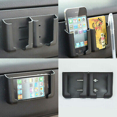 $2.57 • Buy 1pc Auto Car Cell Phone Card Holder Stand Cradle Console Bracket Box Accessories