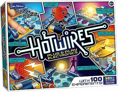BRAND NEW Hot Wires Electronics Kit From John Adams • 44.99£