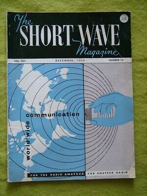 £7.49 • Buy The Short Wave Magazine / Dec 1958 / Simple Standing-wave Indicator