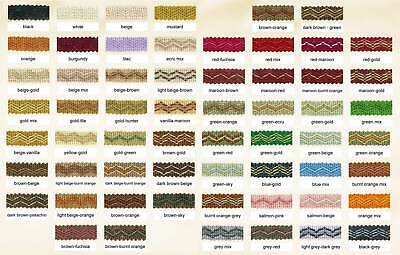 12mm Trim Gimp Braid Valencia - Edging Lampshade Blinds Soft Furnishing Clothing • 0.99£