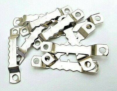 Saw Tooth Picture Hangers 45mm Nickel Plated Canvas Frame Artist Multi List • 2.45£