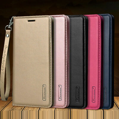 $ CDN10.71 • Buy For Samsung Galaxy S10 S10 Plus Note 9 Magnetic Flip Leather Wallet Case Cover