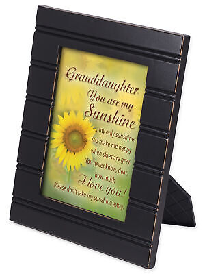 Granddaughter You Are My Sunshine Sunflower Black Framed Art Plaque • 10.07£