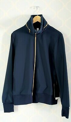 $ CDN138 • Buy Lululemon Lab Future Varsity Jacket In Inkwell (Navy Blue) Size 10 NWT 2014 Rare