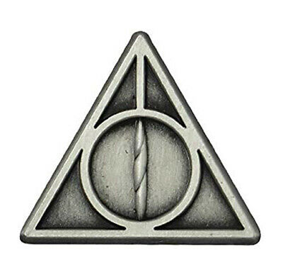 $7.75 • Buy Harry Potter Deathly Hallows Pewter Collectible Lapel Pin