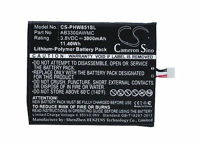 $23.19 • Buy PHILIPS AB3300AWMC Battery For PHILIPS W8510,Xenium W8510,