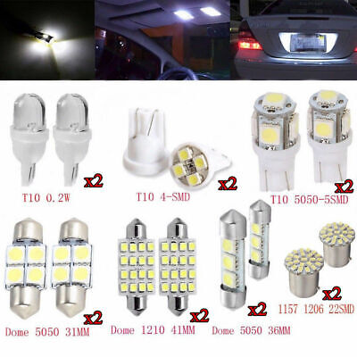 $2.68 • Buy 14pc SUV Car Interior Package LED Map Dome License Plate Mixed Light Accessories