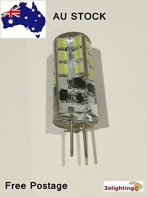 AU6.69 • Buy G4 LED 3W Base For Halogen Bulb Equivalent Replacement AC/DC 12V Cool White