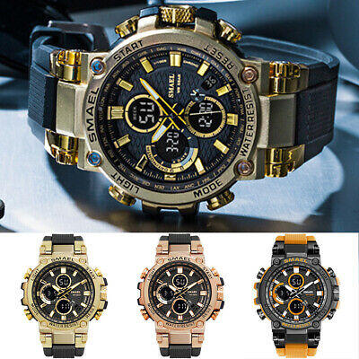 AU22.58 • Buy Men's Watches Sports Outdoor Waterproof Military Wrist Watch Date Multi Function