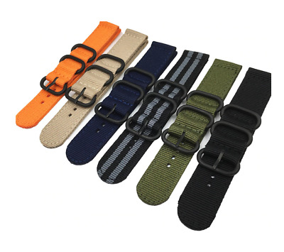 $ CDN12.51 • Buy Fabric Watch Strap 22mm Band Military Army Diver For Seiko Skx007 Skx009