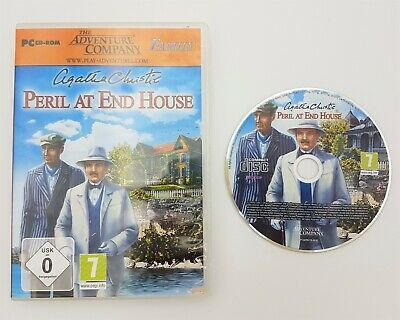 Agatha Christie: Peril At End House - PC CD-ROM - Adventure Company - Fast P&P! • 9.95£
