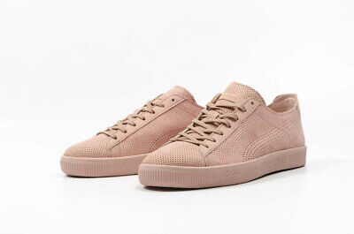 PUMA X Stampd Clyde Cameo Brown Mens Trainers Shoes Pink UK7.5 EU41 US - BNWT • 39.99£