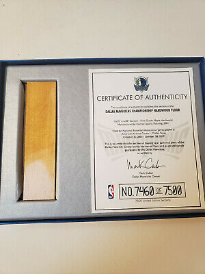 $133 • Buy Dallas Mavericks Collector's Piece Of Championship Basketball Court