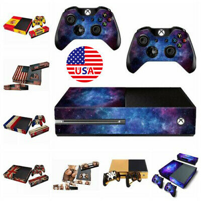$10.57 • Buy For Xbox One 1 Console Controllers Decal Skin Stickers Protector Cover Dustproof