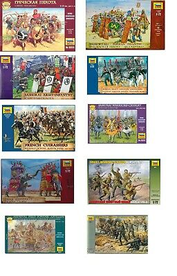 Zvezda Figures1:72 Scale Model Kits Choice Of Figures To Choose From, War Games • 15.99£