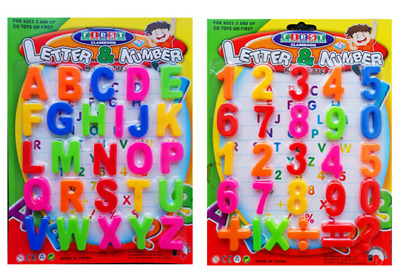 Large Magnetic Letters Alphabet & Numbers Fridge Magnets Toys Kids Learning • 2.99£