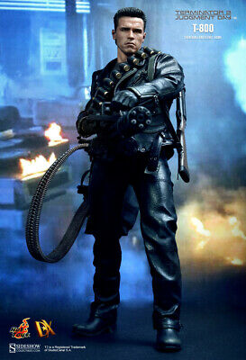AU1091.88 • Buy Dhl Express Hot Toys 1/6 Terminator 2 Judgment Day Dx10 T-800 Figure
