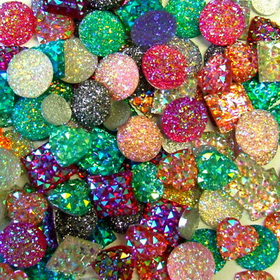 £2.95 • Buy Stunning Crystal Dazzlers Gems Assorted Clolours & Shapes Your Choice New