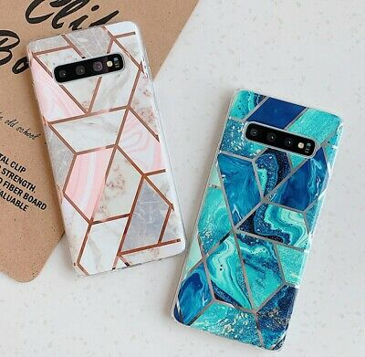 AU7.95 • Buy For Samsung S10 Plus S9 S8 Soft TPU Case Marble Shockproof Silicone Gel Cover