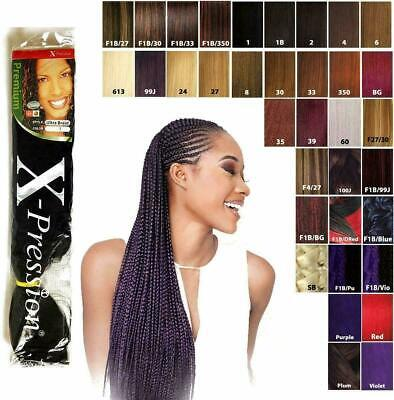 X-pression (xpression) Ultra Hair Braid (braiding) Extension - 1 Pack Or 3 Packs • 4.99£