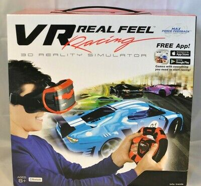 VR Real Feel Virtual Reality Racing Gaming System 3D Reality Simulator NEW!!! • 10.72£