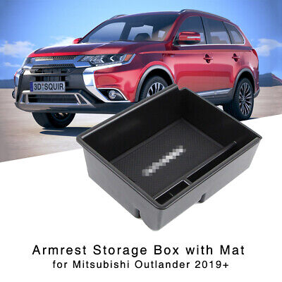 AU33.99 • Buy Armrest Storage Box For Mitsubishi Outlander 2019+ Central Console Glove Tray