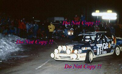 Malcolm Wilson Ford Sierra RS Cosworth 4x4 Monte Carlo Rally 1991 Photograph • 4£