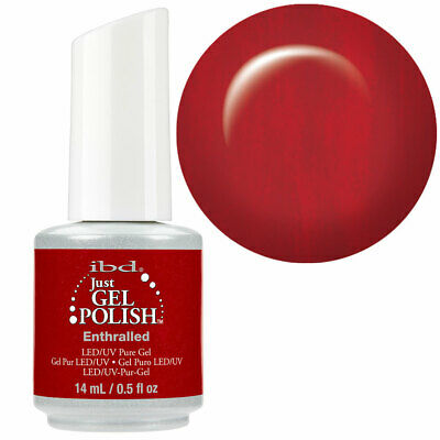 AU22.95 • Buy GENUINE IBD Just Gel Soak Off UV LED Gel Nail *ENTHRALLED* 14ml