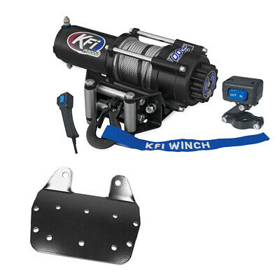 AU405.02 • Buy 3000 Lb KFI Winch Combo Kit (M1) For 2002-2008 Yamaha Grizzly 660 4x4
