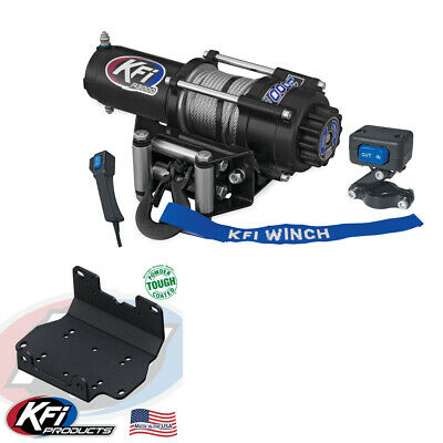 AU405.02 • Buy 3000 Lb KFI Winch Combo Kit (M1) For 2016-2019 Yamaha Grizzly 700 4x4
