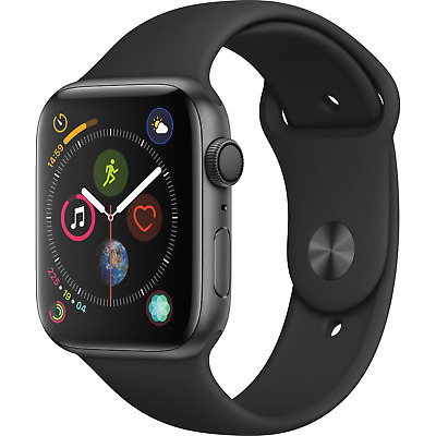 $ CDN387.79 • Buy Apple Watch Series 4 GPS 44mm Space Gray Case With Black Sport Band MU6D2LL/A