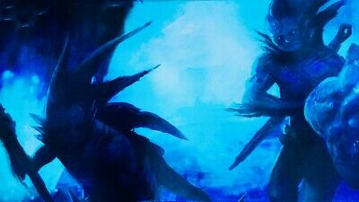 MTG Magic The Gathering Merfolk Custom Commander Playmat Kumena Core Set M20 • 31.99£