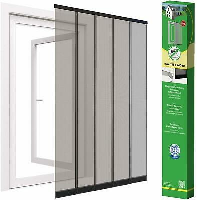 Strip Curtain Fly Screen Door Clamping Strip UV Weather Resistant 125x240 CM New • 29.86£