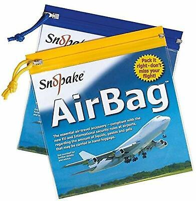 $19.78 • Buy 10x TRAVEL ZIP BAGS CLEAR AIRPORT TRANSPARENT LIQUID TOILETRIES CABIN Security