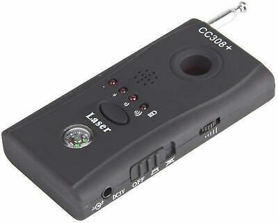 Bug Detector Anti Spy RF And Listening Devices With 6 LEDs Shutter Bug Finder  • 15.58£