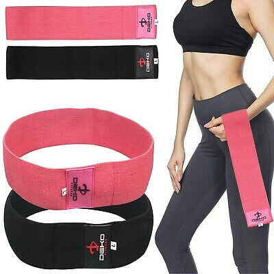 $ CDN6.82 • Buy Resistance Hip Loop Bands Elastic Exercise Band Fitness Home Gym Yoga Hip Band