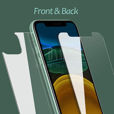 AU1.99 • Buy Front & Back Tempered Glass Screen Protector For Apple IPhone 11 Pro XS Max XR X