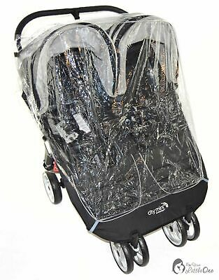 Raincover Compatible With Britax B-Agile Twin Double Pushchair • 12.99£